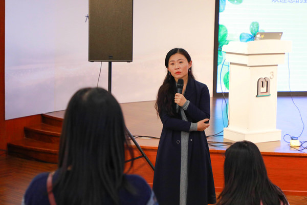中科院心理所儿童发展心理学博士后罗静老师进与现场观众互动答疑